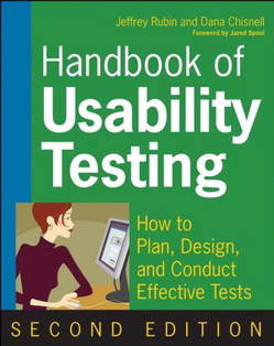 Cover photo of the Handbook of Usability Testing 2nd Edition